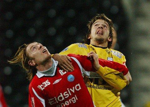Nye høyder. Trond Fredrik Ludvigsen håper å nå nye høyder i fotballkarrieren. Det tror han blir lettest å få til ved å fortsette karrieren i Bodø/Glimt. Foto: Tom Melby