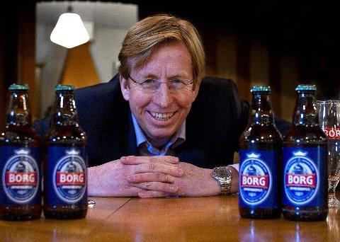 INGEN KOMMENTAR: Konsernsjef Lars Midtgaard i Hansa Borg kommenterer ikke ryktene rundt bryggeriet Nøgne Ø i Grimstad. (Foto: Tobias Nordli)