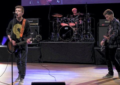 PUNK: The Worms spilte californiapunk med god sceneframtreden, mente juryen i Hedmark.