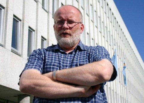 Kulturvernsjef i Nordland fylkeskommune Egil Murud liker ikke det han ser.