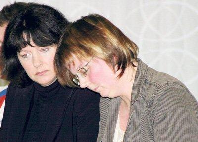 SV-representantene Ann-Kristin Brandt (t.v.) og Jane Bråthen vil bli sentrale når kommunestyret i Sørum i kveld skal avgjøre hvor barnehagen i midtbygda skal ligge.