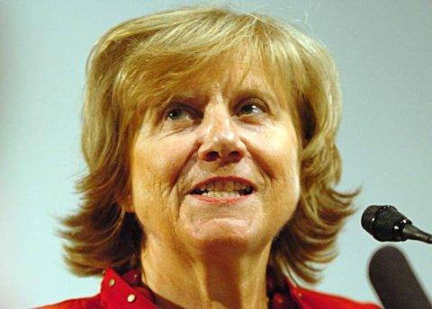 Gerd-Liv Valla (59) kan jobbe for LO til hun fyller 65 år.