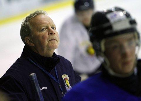 IRRITERT: Lenny Eriksson var svært misfornøyd med Sparta-tapet for Borås søndag. (Foto: Tobias Nordli)