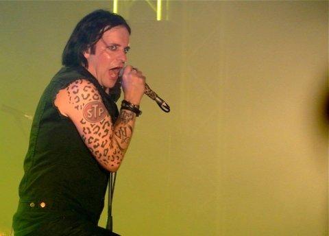 Musikkfestivalen Amphi Festival i K?ln i Tyskland. Stephan Groth og Apoptygma Berzerk på scenen i K?ln.