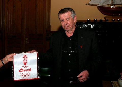John Fredrik Fosse fikk kulturprisen.