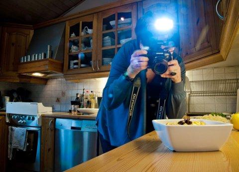 KAMERA   Da Trine fikk speilreflekskamera ble det for alvor fart på bloggingen.