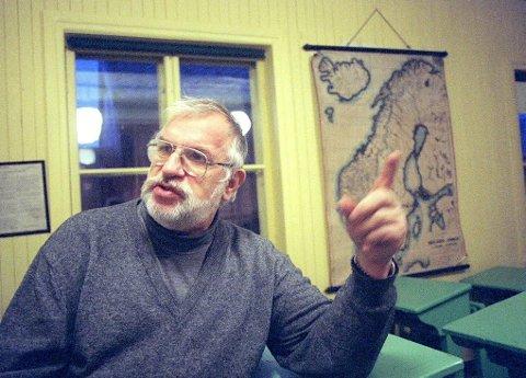 GRUSOM BARNDOM: Oddvar Tormod Johansen (75) bodde åtte år på barneherberget Bjørklund i Tromsø sentrum. Der ble han mishandlet på daglig basis av bestyrer og ansatte. Han hadde ikke hørt om søknadsfristen for oppreisning. Foto: Simen Fangel