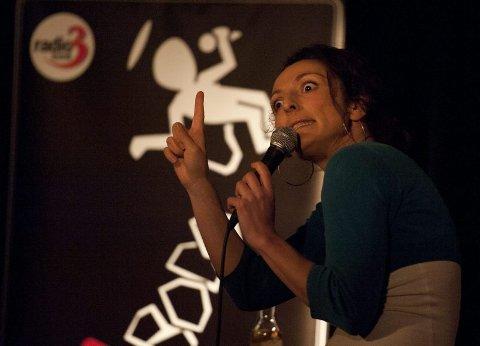 Kjendis. Lisa Tønne er en av flere kjente komikere som har underholdt i Bodø.