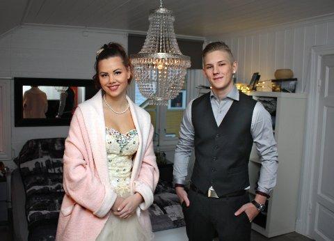 SAMMEN: Kristian Sætre og Ada Grambo er samboere og driver «Oss mot mobbing» sammen.