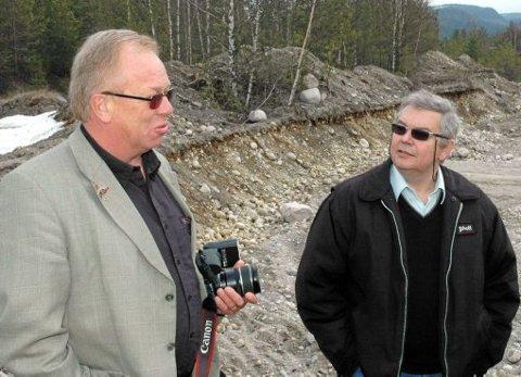 VIL ANMELDE: Hans Oddvar Nordskog (t.v) og Vigleik Kjeldal i Stormo Invest vil nå politianmelde IATA.