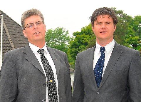 Petter Jørgensen og Stig Kolbjørnsen er godt fornøyde med første halvår i år. Målrettet arbeid har gitt 60 prosents omsetningsøkning, hevder hotell-duoen.