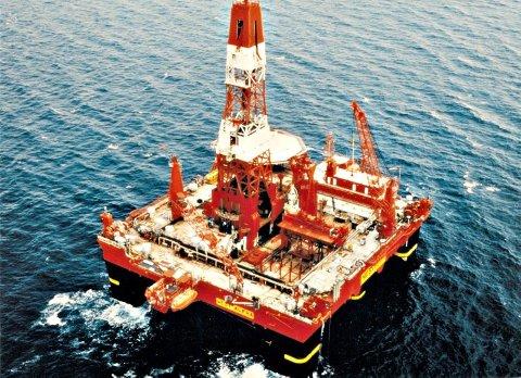 FUNN: West Alpha har boret undersøkelsesbrønnen for North Energy på Haltenbanken. (Foto: Seadrill)