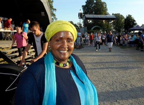 UTMERKER SEG: Safia Abdi Haase jobber på heltid for Stiftelsen Amathea. Arkivbilde.