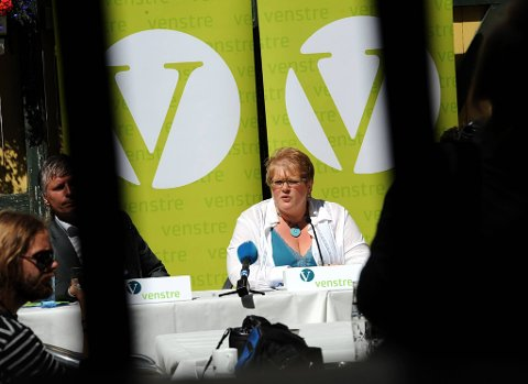 Venstre og leder Trine Skei Grande oppsummerte det siste politiske året onsdag.