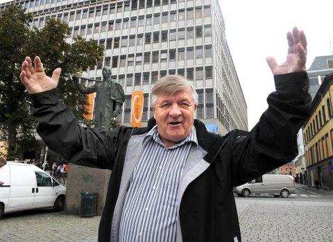 Forbundsleder Sture Arntzen i Handel og Kontor går turbulente tider i møte fram mot LO-kongressen i 2013.