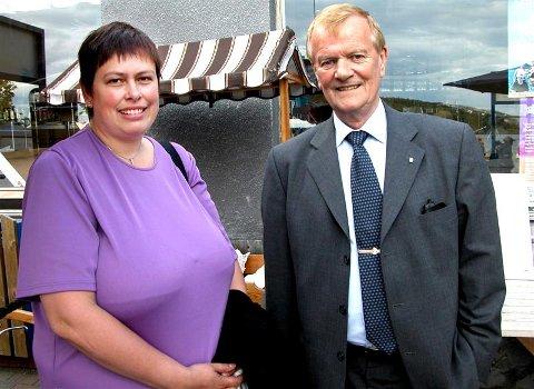 Vi tror regionen vil oppnå mye mer dersom vi står samlet, sier ordfører Rita Ottervik i Trondheim og ordfører Dagfinn Ripnes i Kristiansund. Torsdag var en delegasjon fra Trondheim på besøk for å diskutere et formalisert samarbeid.