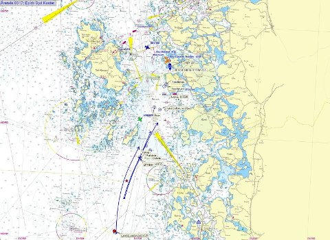 kart over bohuslän SarpsbArbeiderblad   Sunket skip trolig lokalisert kart over bohuslän