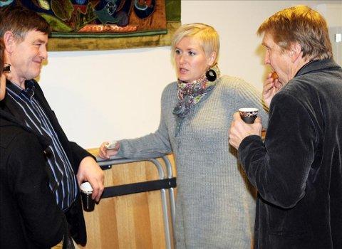Rita Ormbostad (H) fikk beskjed av ordfører Ingunn Golmen (Sp) om å legge ut beklagelse etter kommentarene på facebook . Her er hun fotografert i en pause i kommunestyret i Aure. Arkivfoto