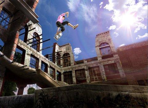 MORO: Skate 2 er eit omfattande spel med mange triks og mange område der ein kan konkurrere eller leike seg med brettet.