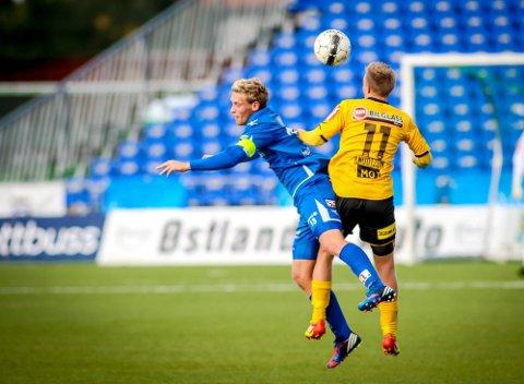 TRE ÅR: Kaptein Ole Christoffer Heieren Hansen har skrevet under tre år for Sarpsborg 08. (Foto: Thomas Andersen)