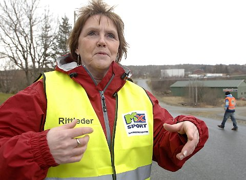 FORNØYD: Rittleder Henny Kristiansen var meget godt fornøyd med deltakelsen og med gjennomføringen.