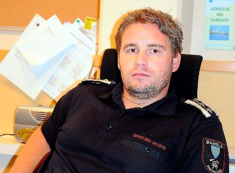 Morten Meen Gallefos foreslår å omorganisere IUA Telemark.