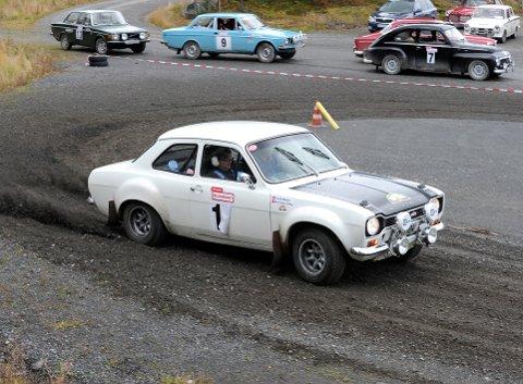 NOSTALGI: Rolf Ingar Schou i Ford Escort Twin Cam under fjorårets Challenge Lillehammer.