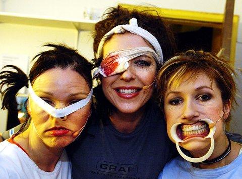 Kjersti Berge, Elisabeth Moberg og Marit Voldsæter gjorde stor suksess som Kvinner på randen (arkivbilde fra 2005).