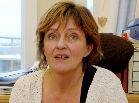 Rektor ved Risøyhamn skole, Ann-Brita Gregersen?.