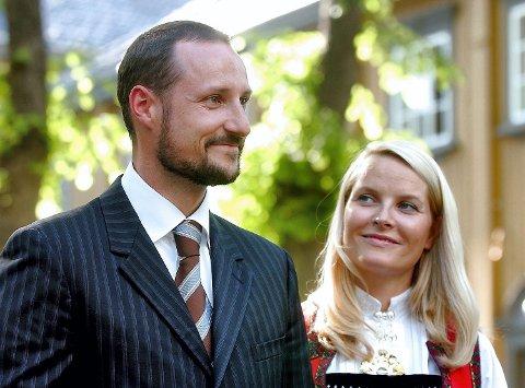 TIL CC9: Kronprins Håkon Magnus og kronprinsesse Mette-Marit kommer til klimakonferansen.