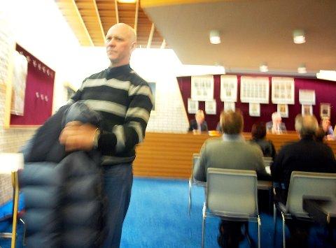 Rolf Solvoll (Ap) klarte ikke å få flertallet med seg i kampen for Bleik skole.