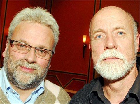 Torgeir Dahl og Per Kristian Øyen (til venstre) er ? ikke uventet ? uenige. NB: Dette bildet ble tatt i en halt annen sammenheng.