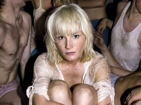 Lena Kristin Ellingsen fra Saltdal kommune i Nordland. Bildet er fra musikalen «Spring Awakening» på Oslo Nye Teater.