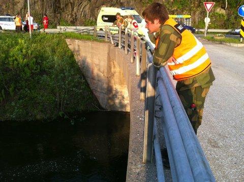 Badeulykke ved Olsborg i Målselv.