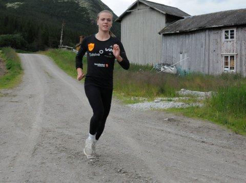 FRI FART: Maren Hansen-Møllerud Hauen har fått mer åpne luftveier, og gleder seg til junior-NM i friidrett.