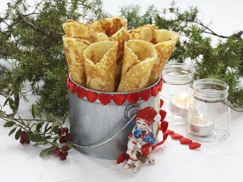 Krumkaker er en av julens favoritter.