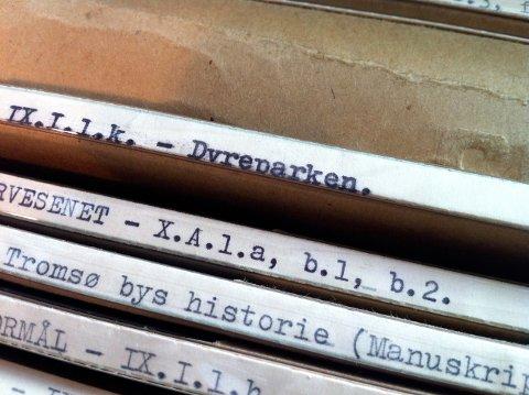 UKJENT HISTORIE: I kommunens gamle arkiv ligger flere mapper med dokumenter om et av de mest vågale kommunale prosjekter noen sinne.