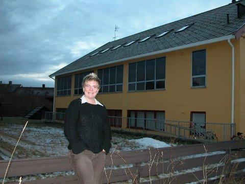 Rektor. Elisabeth Thielemann er tilsatt som rektor på den nye katolske skolen i Bodø, St. Eysteins skole. Foto: Jørgen Mathisen