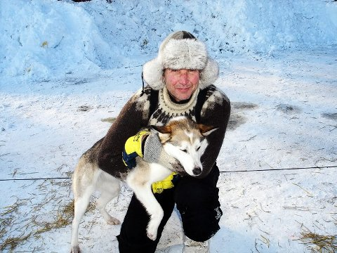 MÅTTE BRYTE Bjørn Klubnes fra Nordreisa var blant dem som måtte bryte Finnmarkløpet.