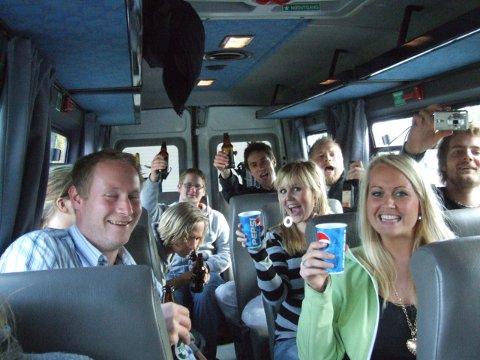 Fumigate arrangerte busstur for Risør-folk som ville ta turen inn for å få med seg konserten på John Dee.
