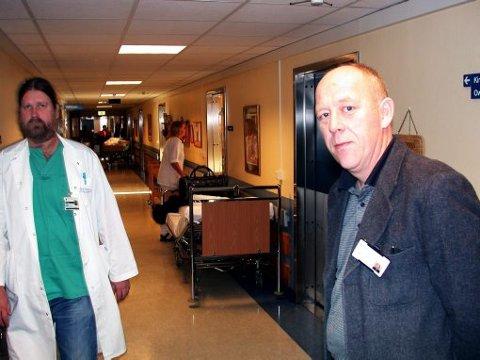 - BEKLAGER: Ivar Dahl er konstituert direktør i helseforetaket Blefjell sykehus. Han beklager nå fremgangsmåten radiologstillingen ble håndtert på.