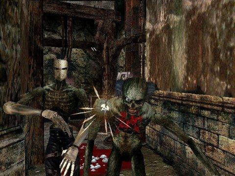 SÅNN PASSE GRAFIKK: House of the Dead 2 og 3 er ikkje særleg å sjå til, men har bra mengder action.