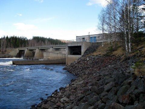 SLIK ER DET: Slik ser det ut nedenfor Svartfossen nå. FOTO: EIDSIVA