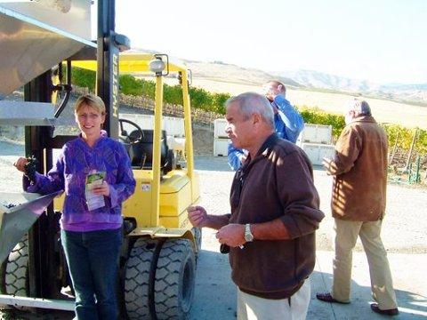 DRUENES MOR: - Vi kom rett opp i produksjonsprosessen for årets Cabernet Sauvignon-vin i Washingtons vindistrikt. Denne druetypen er «mor» til en våre drueslag - Cabernet Cortis.