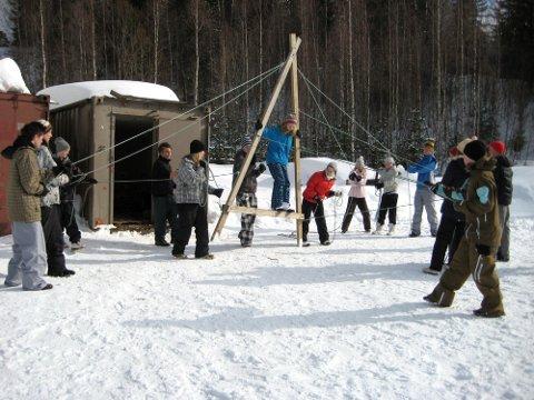Sol, snø og aktiviteter.