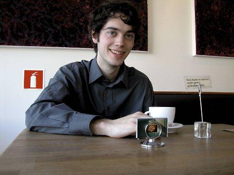 Jan Martin Nordbotten tok doktorgrad da han var 22 år gamme, som den yngste noensinne i Norge (29.04.04).