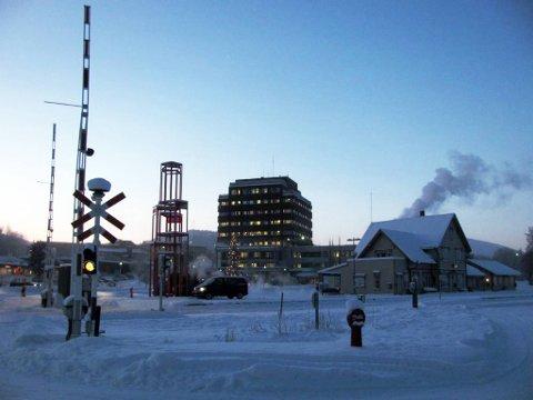 Sprengkulda holder seg fortsatt i store deler av Norge. Her fra Tynset.