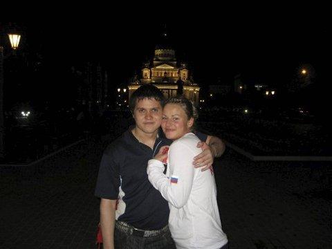 Russiske Aleksey Yufkin (25) er europamester i vektløfting og kjæreste med Anja Jordalen (23) fra Paradis.