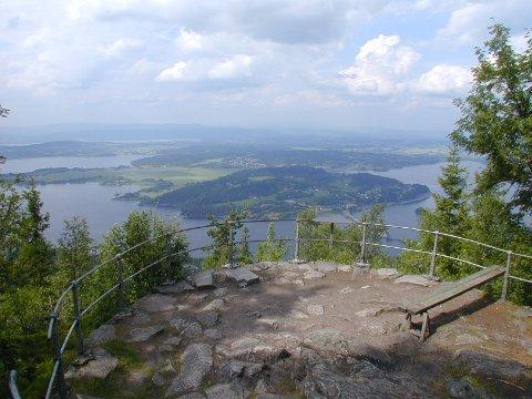 Fortsatt vakkert: Utsikten fra Kongens utsikt er fortsatt vakker.Foto: Per Erik Berge