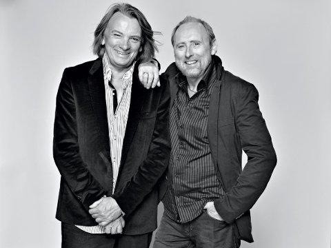 Presentasjon unødvendig:?Jan Eggum og Halvdan Sivertsen er to av Norges mest populære låtskrivere og scenekunstnere.